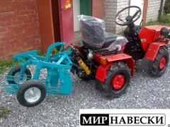 Картофелекопалка ККМ-3 для мини-трактора МТЗ-132Н (без кардана)