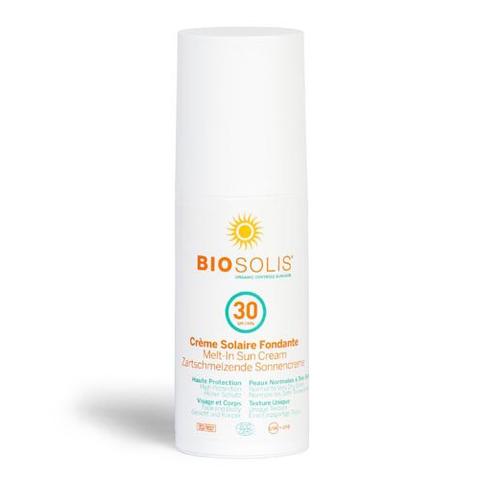 BIOSOLIS Деликатный солнцезащитный крем-пенка SPF30 (100 мл)