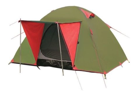 Туристическая палатка Tramp Lite Wonder 3 (зеленый)