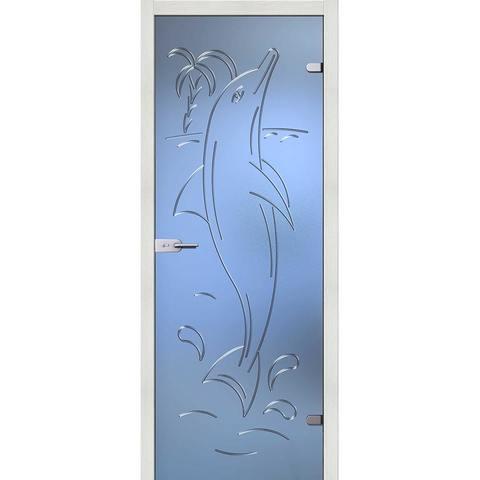 Дельфин стекло бесцветное матовое