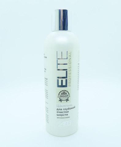 Elite Professional шампунь для кошек и собак для глубокой очистки шерсти 270 мл