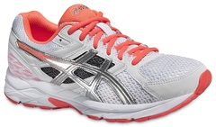 Женские беговые кроссовки Asics Gel-Contend 3 (T5F9N 0106) белые фото