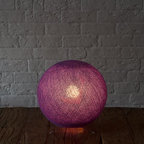 Хлопковый светильник лаванда