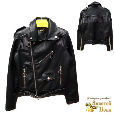 Куртка экокожа девочке (6-11) 200305-T1901.3