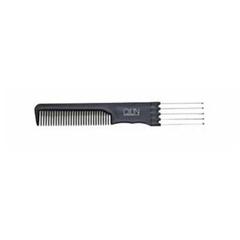 расческа пластиковая с металлической вилкообразной ручкой  OLLIN professional