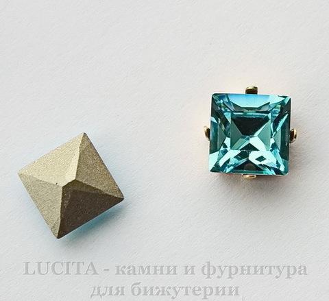 4428 Ювелирные стразы Сваровски Light Turquoise (8х8 мм)