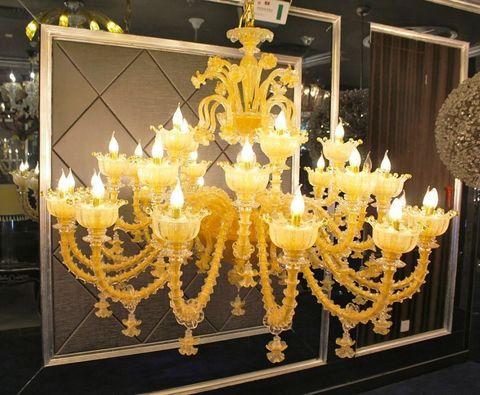 murano chandelier  ARTE DI MURANO 12-22  by Arlecchino Arts ( HK)