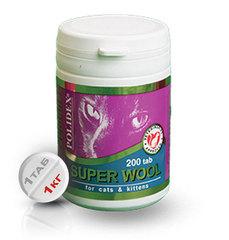 """POLIDEX """"Супер Вул Плюс"""" улучшает состояние шерсти, кожи и когтей у кошек"""