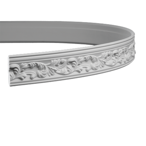 Гибкий карниз Европласт из полиуретана 1.50.189, интернет магазин Волео