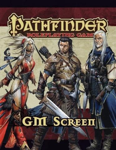 Pathfinder GM Screen / Экран ведущего