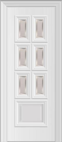 Межкомнатная дверь Nica 12.26 под стекло