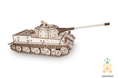Деревянные конструкторы Eco Wood Art. Модель Tank Lowe