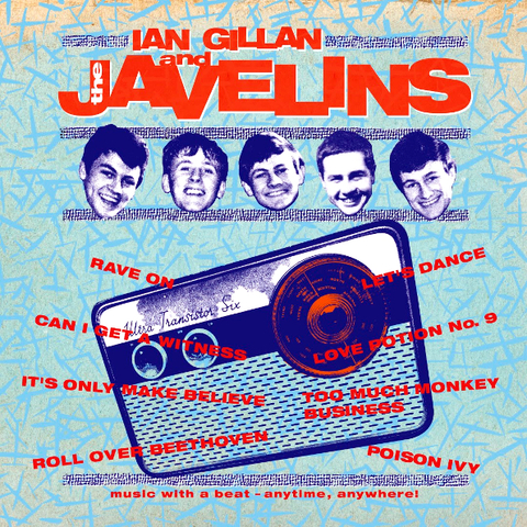 Ian Gillan And The Javelins / Raving With Ian Gillan And The Javelins (LP)