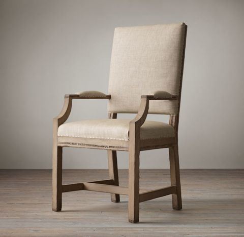 Deconstructed Georgian English Fabric Armchair