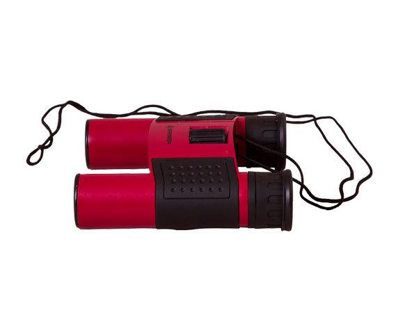 Металлический корпус Topas 10x25 красный