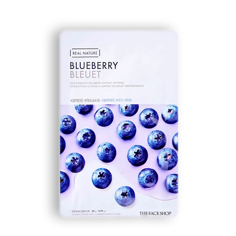 THE FACE SHOP Real Nature Blueberry, 20 gr