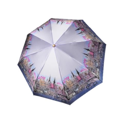 Зонт женский ТРИ СЛОНА Германия Бремен города 132-A-2