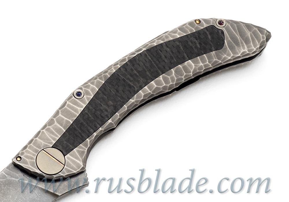 CKF CUSTOM Sablya Stone Knife