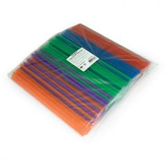 Трубочки для коктейля ГОРНИЦА прямая, цветная, 8мм 24см 250 шт. 401-483