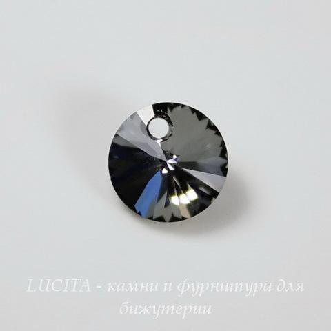 6428 Подвеска - Rivoli  Сваровски Crystal Silver Night (8 мм)