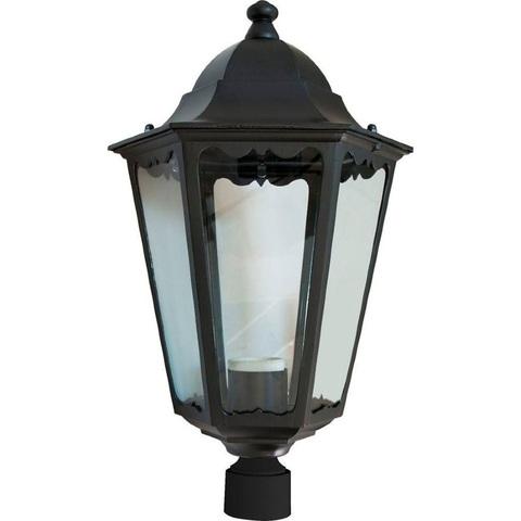 Светильник садово-парковый, 100W 230V E27 черный, 6203 (Feron)