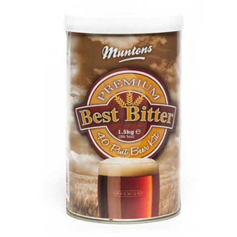 Солодовый экстракт Muntons Premium Bitter 1,5 кг