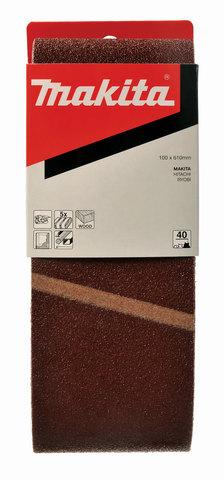 Шлифовальная лента Makita # 40 100x610 мм