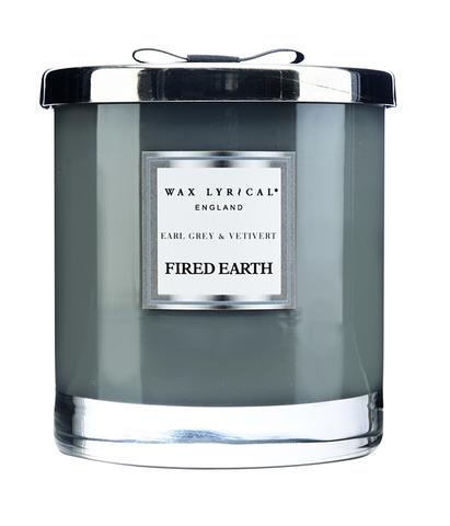 Свеча ароматическая в стекле Чай с бергамотом и ветивером большая, Wax Lyrical