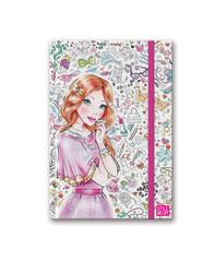 Style Me Up Блокнот для записей розовый (11421)