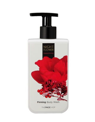 Гель для душа THEFACESHOP NIGHT FLOWER Firming Body Wash, 300 мл.