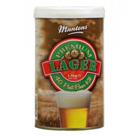 Солодовый экстракт Muntons Premium Lager 1,5 кг