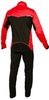 Мужской разминочный лыжный костюм Nordski Premium (NSM300900) красный