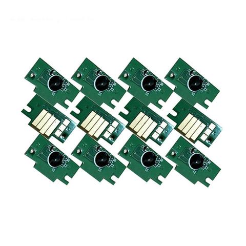 Комплект чипов для Canon PFI-1100, PFI-1300, PFI-1700 для imagePROGRAF PRO-2000, PRO-4000, PRO-6000. Комплект 12 штук. не обнуляемые