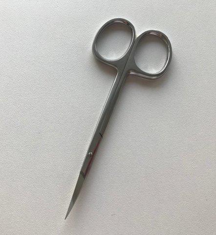 Ножницы для кожи AHA AMN-09 (профессиональная ручная заточка)