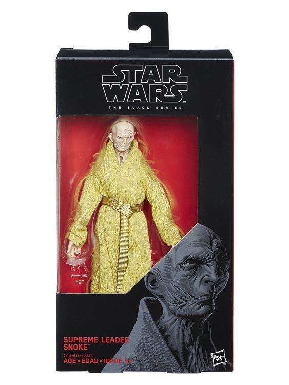Фигурка Верховный лидер Сноук Star Wars: Black Series Звездные Войны