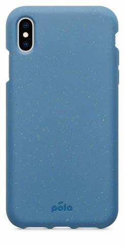Чехол для телефона Pela iPhone XS Max синий