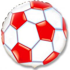 Шар F (18''/46 см) Круг  Футбольный мяч (фуксия) / Soccer Ball