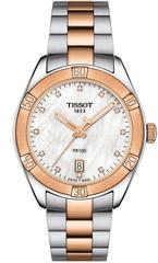 Женские часы Tissot T101.910.22.116.00 PR 100 Sport Chic