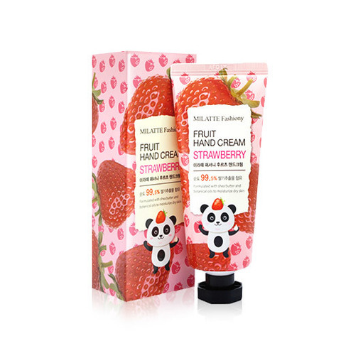 Крем для рук MILATTE Fashiony Fruit Hand Cream Strawberry 60g