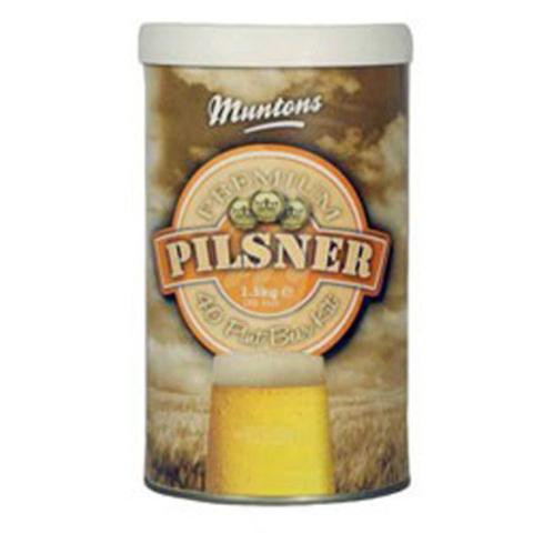 Солодовый экстракт Muntons Premium Pilsner 1,5 кг
