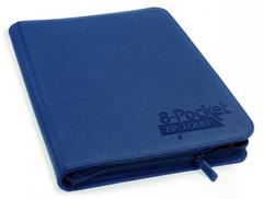Ultimate Guard - Темно-синий гибкий альбом XenoSkin на молнии на 320 карт (4х2)