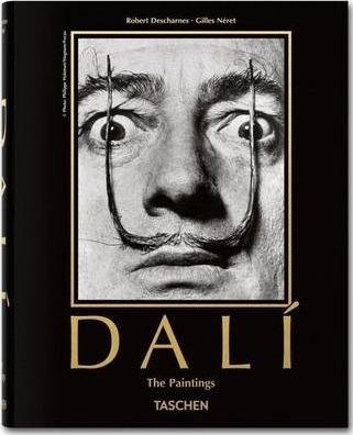 Kitab Salvador Dali, The Paintings   Robert Descharnes , Gilles Neret