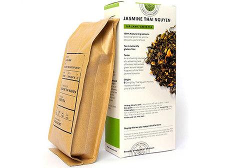 Вьетнамский зеленый чай с жасмином, 100г