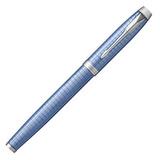 Перьевая ручка Parker IM Premium F322 Blue CT перо F (1931688)
