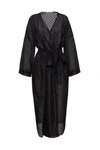 Платье-кимоно Империал черное