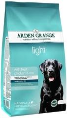 Сухой корм для взрослых собак, Arden Grange Light, диетический