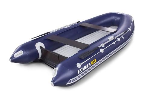 Надувная ПВХ-лодка Солар Оптима - 380 (синий)