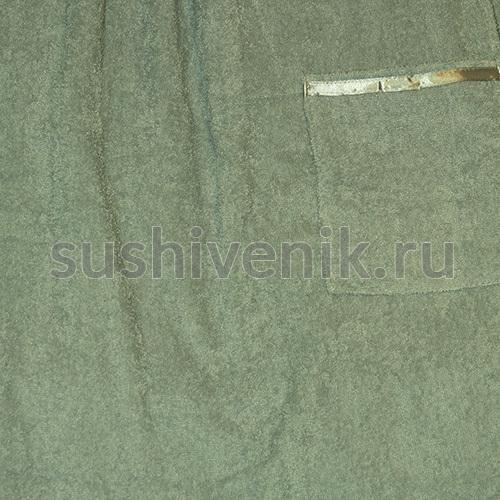 Килт для бани мужской (серого цвета)