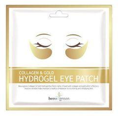 Гидрогелевые патчи для глаз с коллагеном и коллоидным золотом Beauugreen  (1 пара)