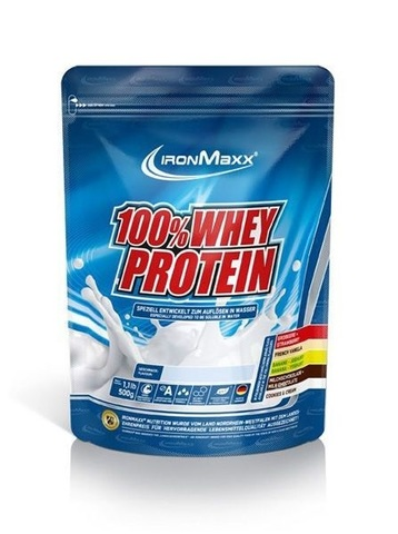 IronMaxx - 100% Whey Protein Bag, 500gr.